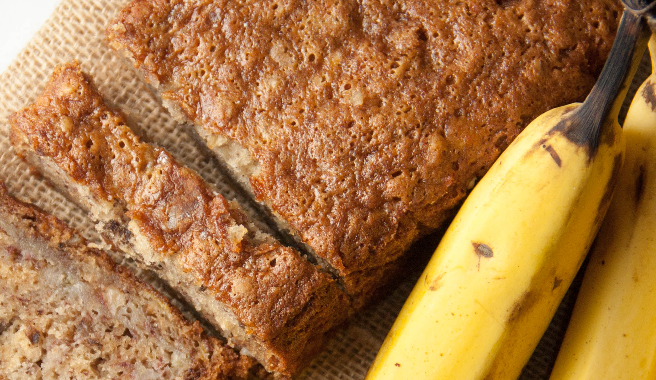 Flours famous banana bread boston girl bakes banana bread is usually made with the muffin method where your wet ingredients are added to the dry ingredients this banana bread recipe throws the rule forumfinder Choice Image