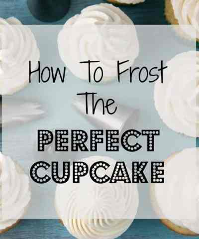How To Frost the Perfect Cupcake (+ Video)