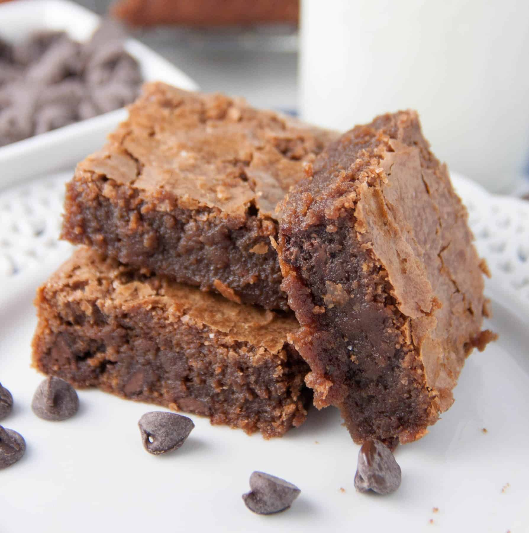 Fat Witch Chocolate Brownies - Boston Girl Bakes