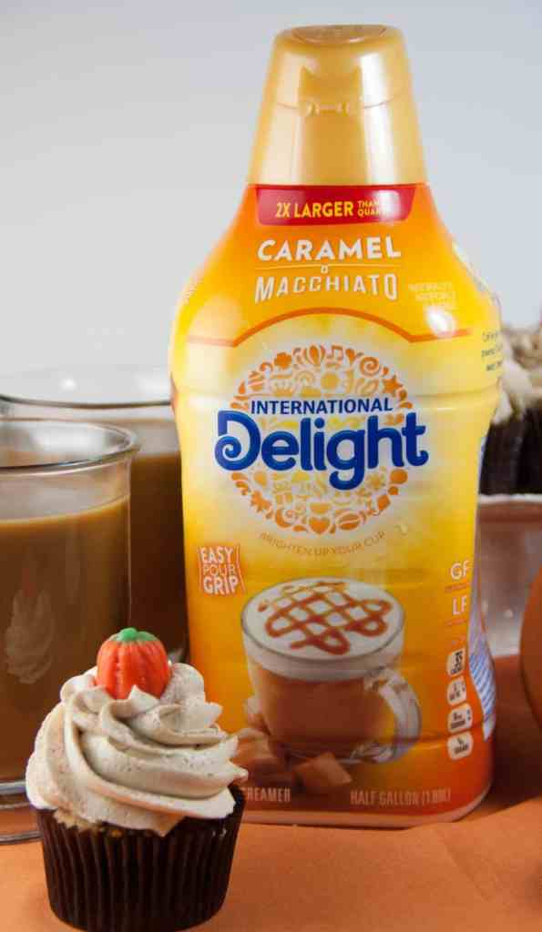 easy pumpkin latte cupcakes
