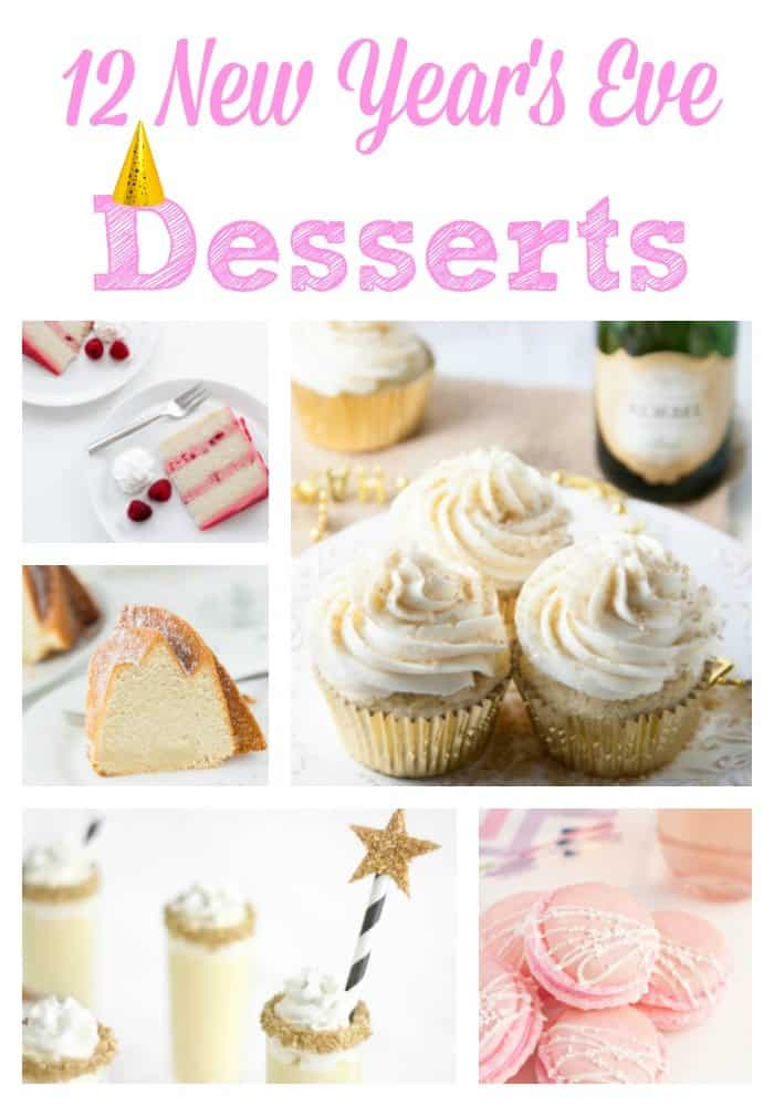 12 New Year's Eve Desserts - Boston Girl Bakes