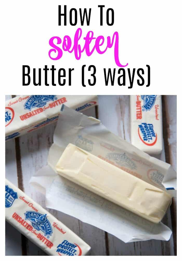 How Do I Get Butter To Room Temperature Quickly