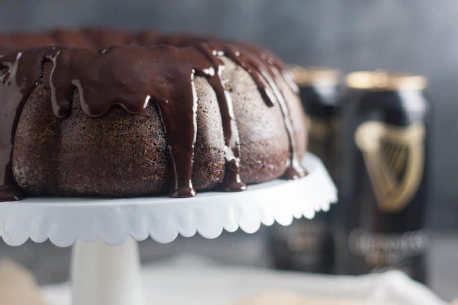 Dark Chocolate Guinness Cake