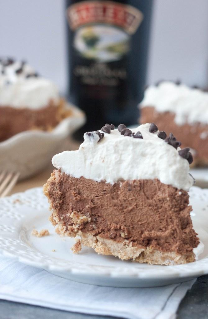 Bailey's Chocolate Cream Pie