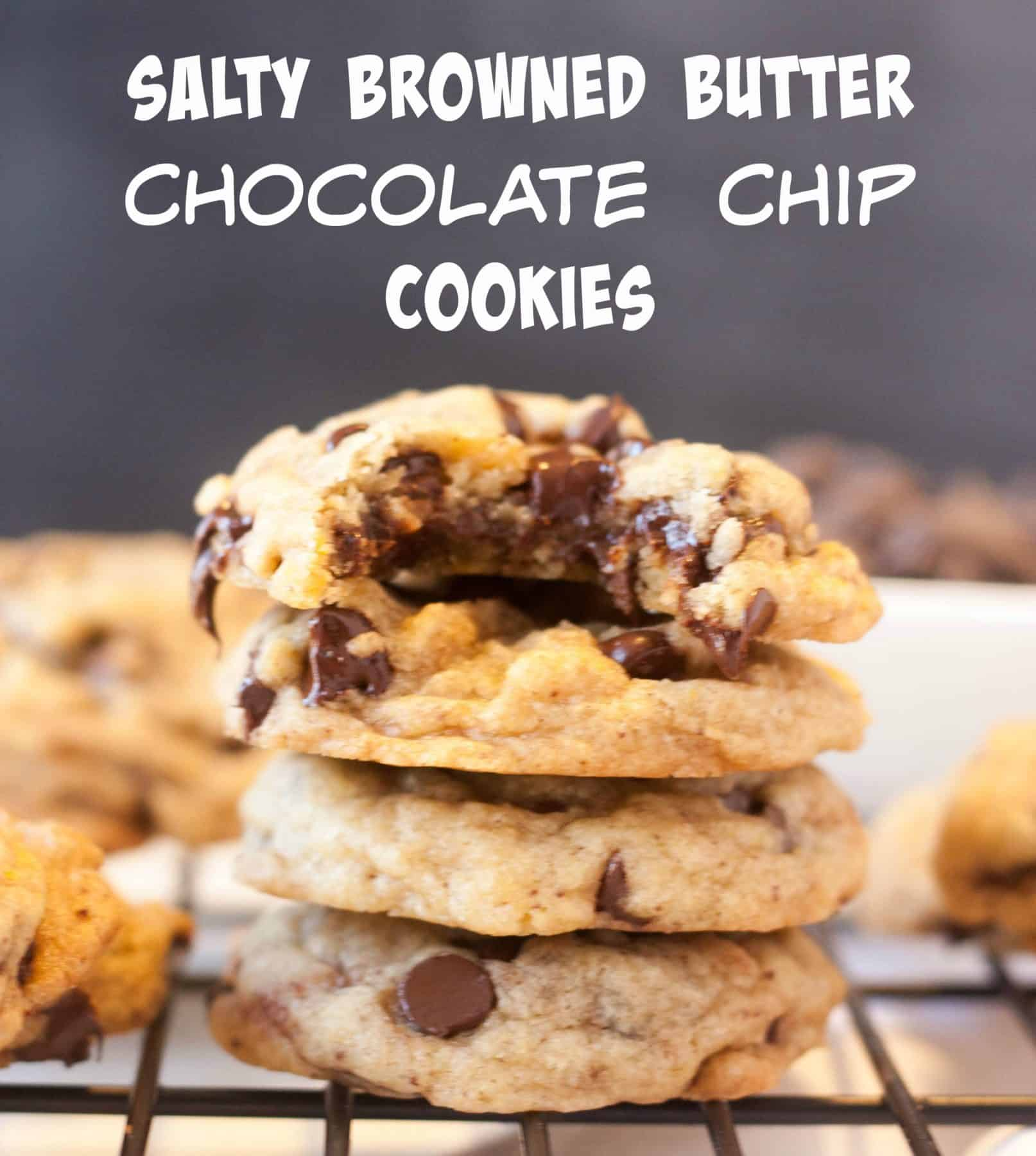 Chocolate Chip Brown Butter Sea Salt Cookies - Boston Girl ...