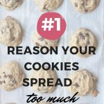 #1 reason yoru cookies spread too much