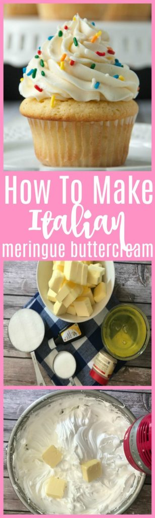 how to make italian meringue buttercream
