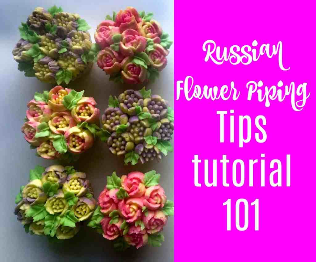 russian frosting tips tutorial