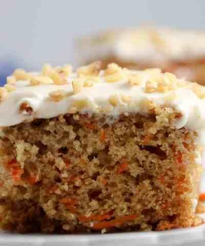Easy Carrot Sheet Cake