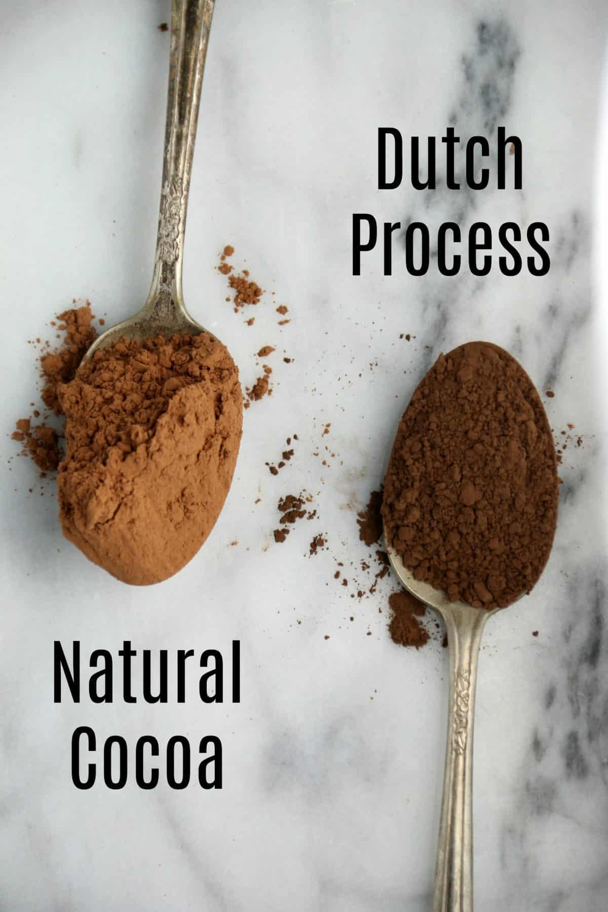 Natural Cocoa Vs Dutch Process Cocoa Powder Boston Girl