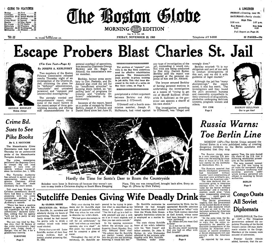 Friday November 22 1963