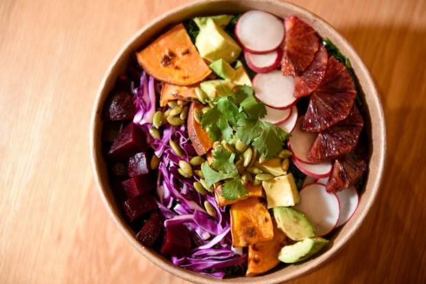 boston ma january 8 b good citrus avocado salad january 8 2019 photo by faith ninivaggibostonherald