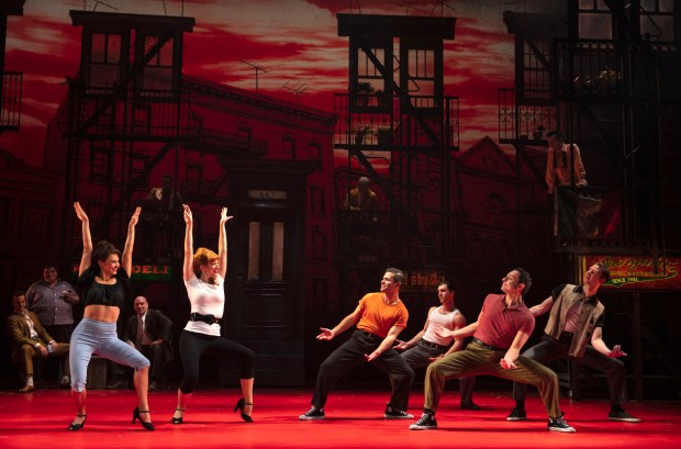 'A Bronx Tale' musical number.