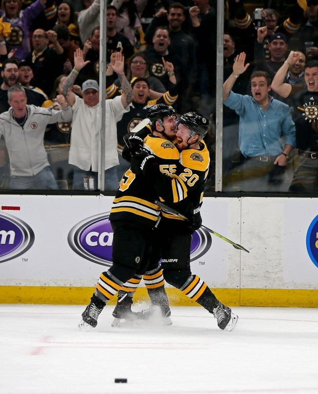 Camaraderie A Plus For The Bruins