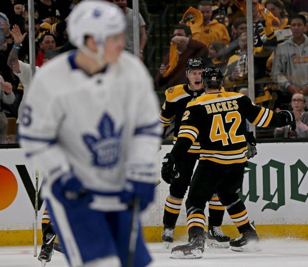 Bruins Bag Maple Leafs In Energetic, Heavy-hitting Game 2
