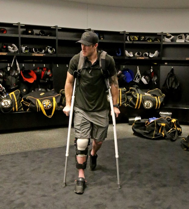 Torey Krug Seeks Contract Clarity Kevan Miller Among Still Wounded