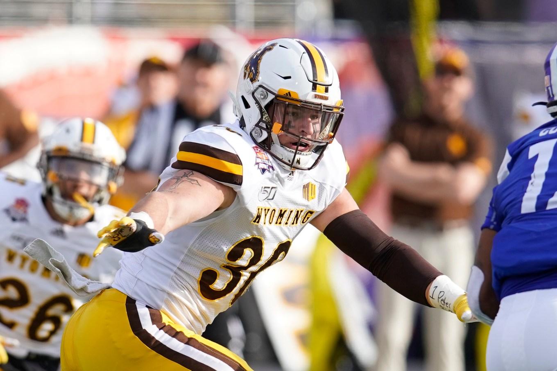 NFL Draft: 10 potential Patriots draft picks — Wyoming LB Logan Wilson
