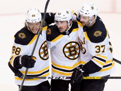 Bruins, Fellow NHLers Entering A Different Fray