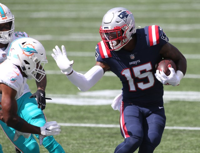 For Patriots receiver N'Keal Harry, there's no time like the present