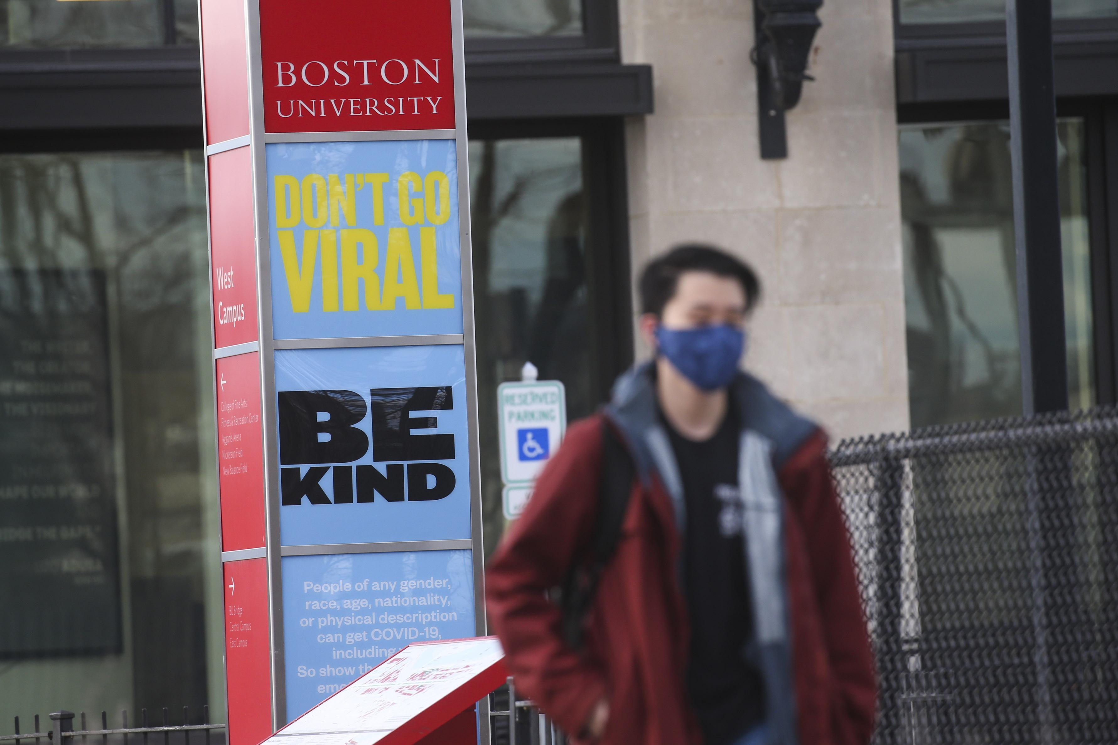 Boston University 'must suspend' coronavirus vaccine program after state halts doses