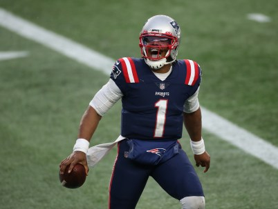 Patriots 2021 quarterback: Cam Newton says 'Hell yes' to re-signing