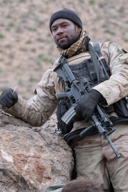 Trevante Rhodes reveals warrior's mentality in '12 Strong' – Boston Herald