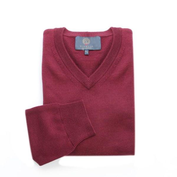 Sweater Cuello V Port Viyella Alphi