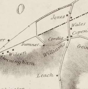 1831 Baker Map Detail: Codman Square