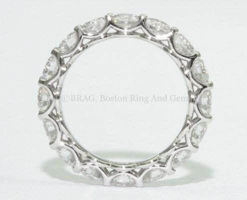 Diamond eternity wedding ring