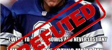 troy aikman refuted