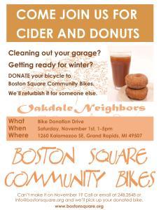 Boston Square flyer
