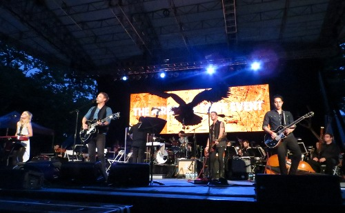 The Airborne Toxic Event: SummerStage in Central Park, New York City Photo by Julie Stoller