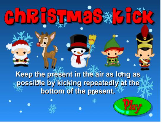 Christmas Kick Game