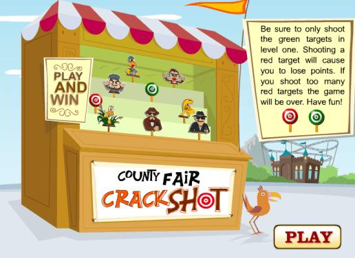 Country Fair Crack-shot Shooting Game