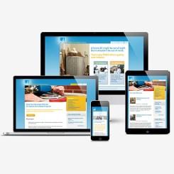 Utility Web Design for PG & E