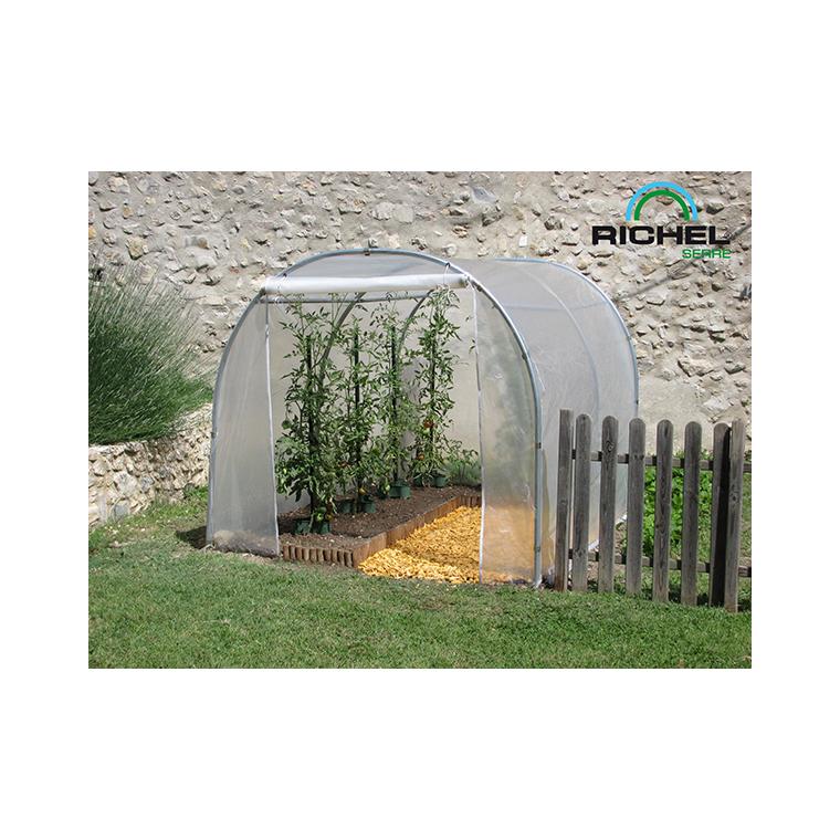 serre de jardin en plastique transparente 6m 2 x 3 m
