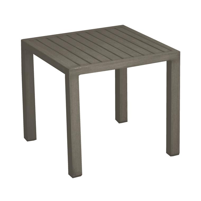 table basse de jardin taupe en aluminium lou
