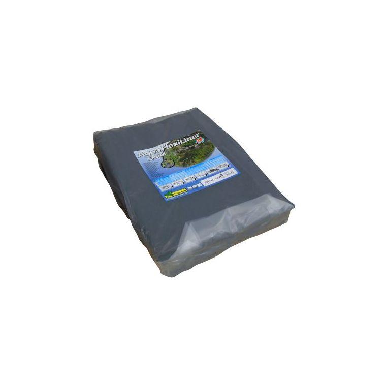 bache pour bassin 0 6 mm aquaflexiliner noire 5 02x7 5 m
