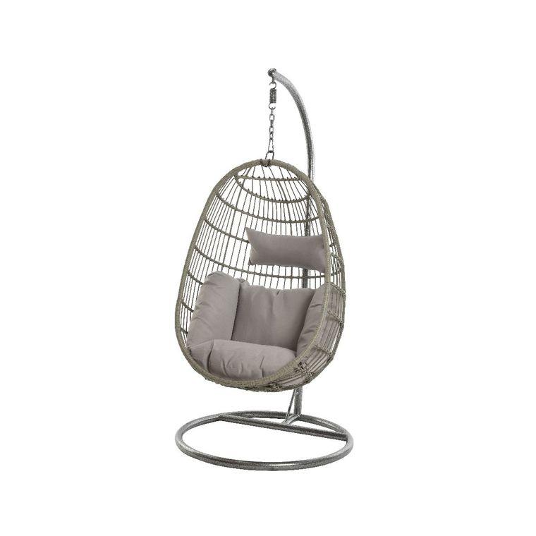 chaise a suspendre corsica d exterieur couleur grise