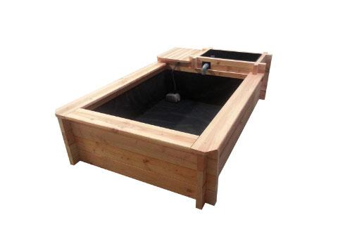 un bassin sur ma terrasse conseil
