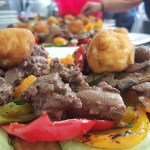 Botanical Park and Gardens of Crete-Dishes with Traditional Cretan Meat
