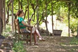Botanical Park and Gardens of Crete: Relaxing walk through our garden's vineyards