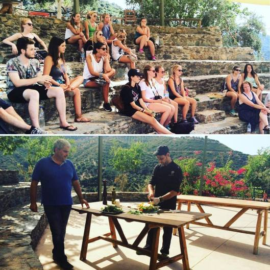 Botanical Park and Gardens Of Crete-Our Amphitheatre and some cooking lessons