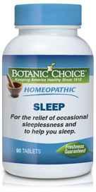Homeopathic Sleep Formula 90 tablets