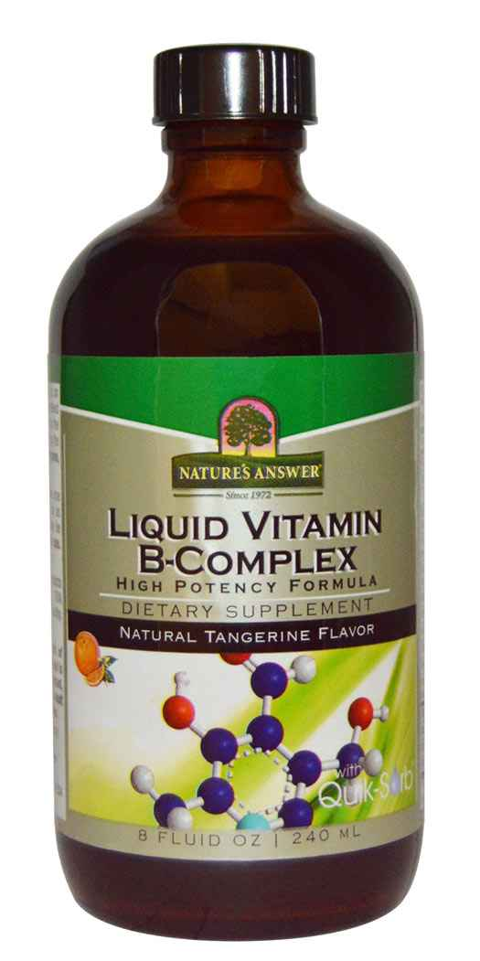 Natures Answer Liquid Vitamin B-Complex - 8 Oz