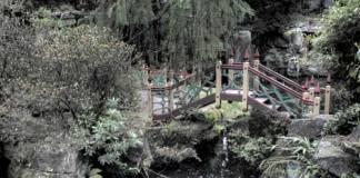 Chinese Bridge at Biddulph Grange Gardens