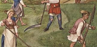 Image: 'June', from Il Breviario Grimani. Anonymous, circa 1510.