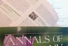 Annals of Botany: position of Deputy Managing Editor