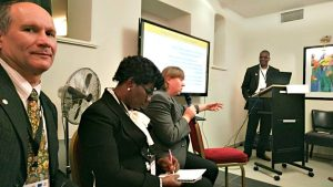 Pat Heslop-Harrison and others discuss Sustainable Development Goals
