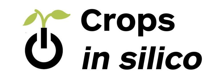 Crops in silico logo